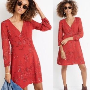 NWT Madewell Wrap Dress